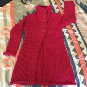 Other - Cozy high neck cable girl dressy sweater